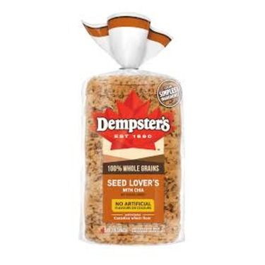 Dempster's 100% Whole Grains Seed Lover's with Chia Bread