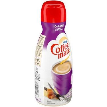 Coffee mate vanilla carmel coffee creamer