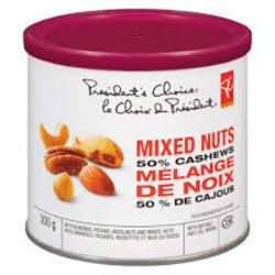 Presidents Choice Mixed Nuts