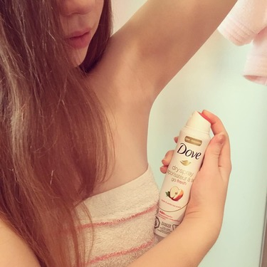 Dove Go Fresh Apple & White Tea Scent Dry Spray Antiperspirant