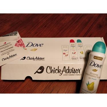 Dove Go Fresh Pear & Aloe Vera Scent Dry Spray Antiperspirant