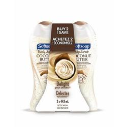 Softsoap- Coconut Butter Body Scrub