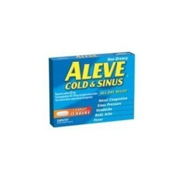 Aleve Cold and Sinus