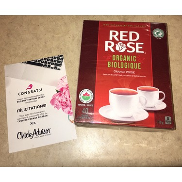Red Rose Organic Orange Pekoe Tea
