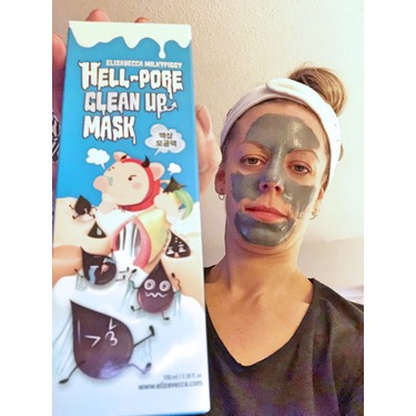 Elizavecca Milkypiggy Hell-Pore Clean Up Mask