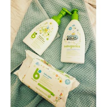 Babyganics Baby Wipes, Fragrance Free