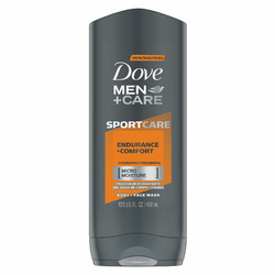 Dove Men+Care SPORTCARE Endurance+Comfort Body + Face Wash