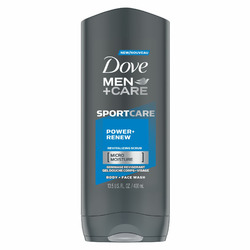 Dove Men+Care SPORTCARE Power+Renew Body + Face Wash