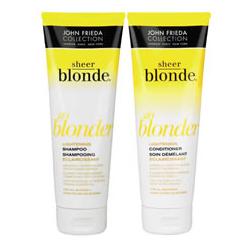 John Frieda Sheer Blonde Go Blonder Lightening Shampoo/Conditioner