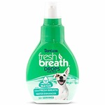 fresh breath by tropiclean drops for pets