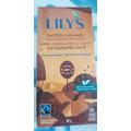Lily's chocolate carmel and sea salt