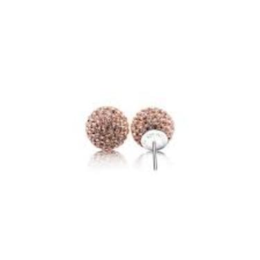 Hillberg & Berk Sparkle Ball Earrings