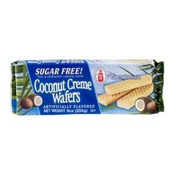 Voortman Coconut Creme Wafers Sugar Free