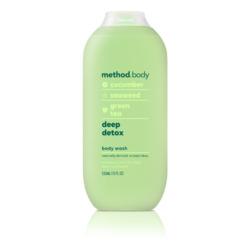 Method Body Deep Detox Body Wash with Cucumber, Seaweed, & Green Tea