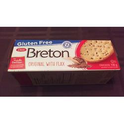 Gluten Free Dare Breton Crackers Original with Flax