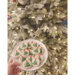 Pillsbury Christmas Sugar cookie