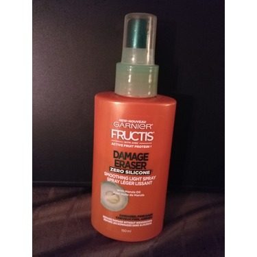 Garnier Fructis Damage Eraser Smoothing light spray