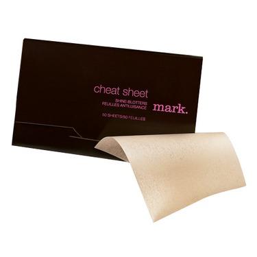 Mark cheat sheet shine blotters.