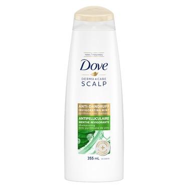 Dove Derma+Care Scalp Invigorating Mint Shampoo