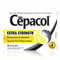 Cepacol Extra Strength Honey Lemon Lozenges