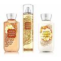 Bath and body works warm vanilla sugar body care set