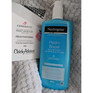 Neutrogena Hydro Boost Body Gel Cream Fragrance-Free