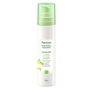 Aveeno Positively Radiant MaxGlow Micellar Gel Cleanser