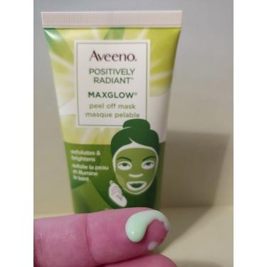 Aveeno Positively Radiant MaxGlow Peel-Off Mask