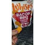 Whisps Bacon BBQ cheese crisps