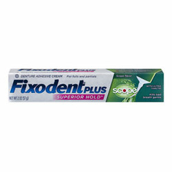 Fixodent Plus Scope Denture Adhesive Cream