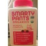 Smarty Pants Women's Complete Organic Multivitamin Gummies