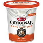 ASTRO original lactose free Balkan yogurt vanilla
