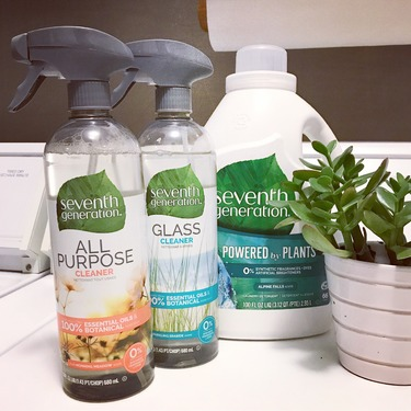Seventh Generation Glass Cleaner - Sparkling Seaside