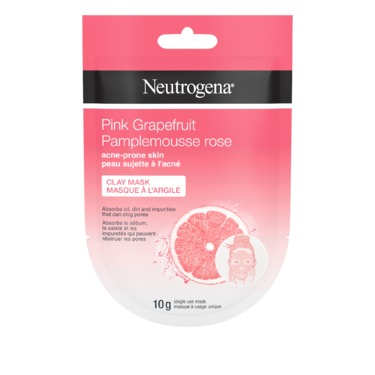 Neutrogena Pink Grapefruit Acne-Prone Skin Clay Mask