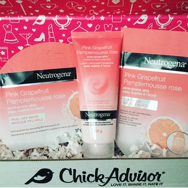 Neutrogena Pink Grapefruit Acne-Prone Skin Peel-Off Mask
