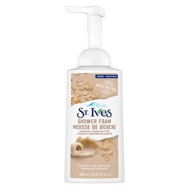 St. Ives Shower Foam Oatmeal & Shea Butter