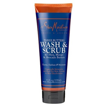 SheaMoisture Three Butters Wash & Scrub Body Wash