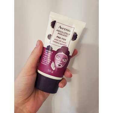 AVEENO Absolutely Ageless Pre-tox Peel Off Mask