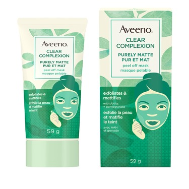 AVEENO Clear Complexion Purely Matte Peel Off Mask