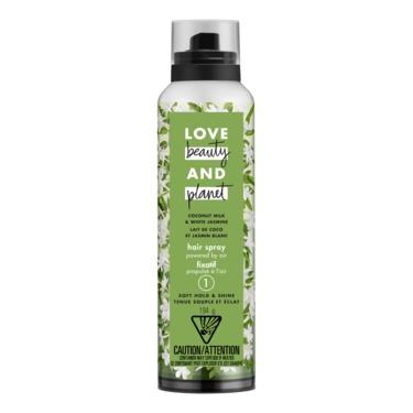 Love Beauty & Planet Coconut Milk & White Jasmine Soft Hold & Shine Hair Spray (level 1)