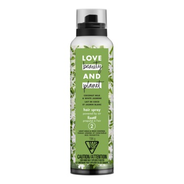 Love Beauty & Planet Coconut Milk & White Jasmine Light Hold & Frizz Control Hair Spray (level 2)