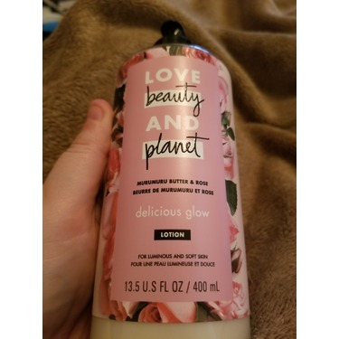 Love Beauty & Planet Murumuru Butter & Rose Delicious Glow Body Lotion