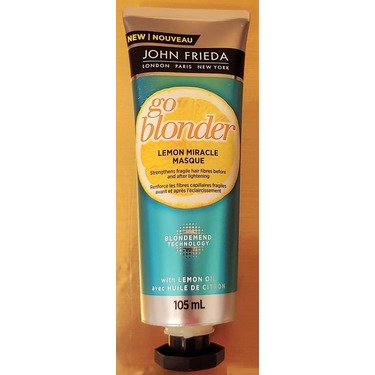 John Frieda Go Blonder Lemon Miracle Masque