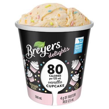 Breyers delights Vanilla Cupcake