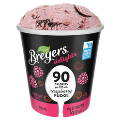 Breyers delights Raspberry Fudge