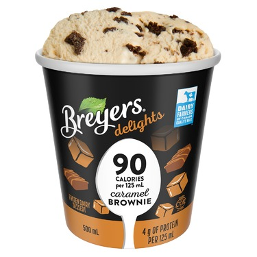 Breyers delights Caramel Brownie