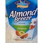 Almond Breeze unsweetebed Vanilla Almond milk