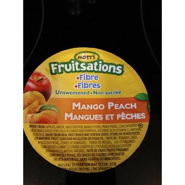 Mott's Fruitsations +Fibre Unsweetened Mango Peach