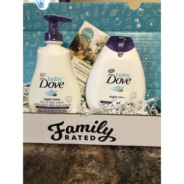 Baby Dove Night Time Tip to Toe Wash