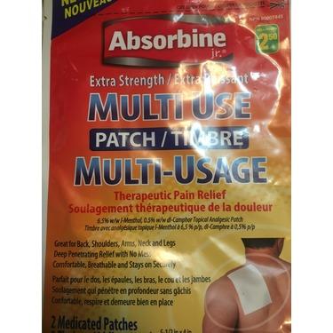 Absorbine Extra- Strength Patch